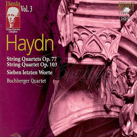 HAYDN,J.: String Quartets - Smyčcová kvarteta Vol.03 (2CD)