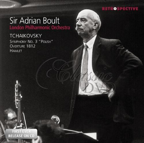 SIR ADRIAN BOULT: Conducts Tchaikovsky (CD)