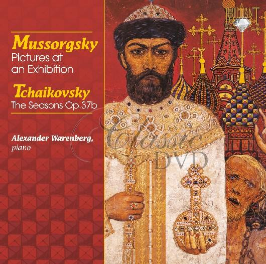 MUSSORGSKY,M.: Pictures at an Exhibition - Obrázky z výstavy / TCHAIKOVSKY: THE SEASONS (CD)