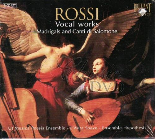 ROSSI,S.: Vocal works - Madrigals & Canti di Salomone (3CD)