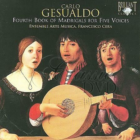 GESUALDO,C.: Fourth Book of Madrigals for Five Voices (CD)