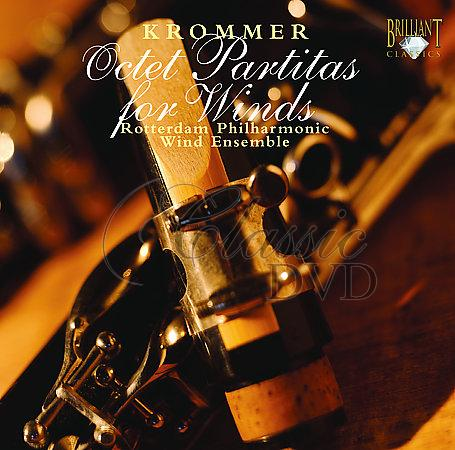 KROMMER,F.: Octet partitas for Winds (CD)