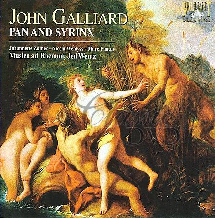 GALLIARD,J.: Pan and Syrinx (Musica ad Rhenum) (CD)