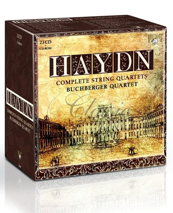 HAYDN,J.: Complete String Quartets (23CD)