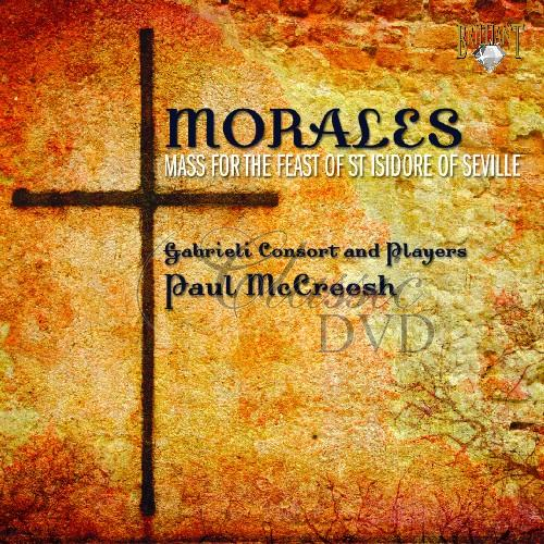 DE MORALES,C.: Mass for the feast of St Isidore of Seville (CD)