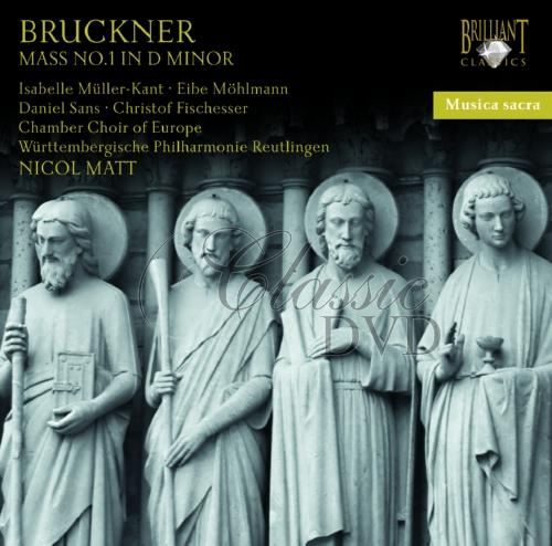 BRUCKNER,A.: Mass No.1 in D minor [Matt] (CD)