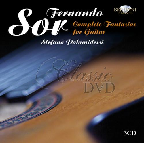 SOR,F.: Complete Fantasias for Guitar [Palamidessi] (3CD)