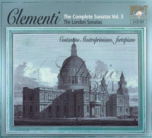 CLEMENTI,M.: Kompletní sonáty Vol.3 - London sonatas (3CD)
