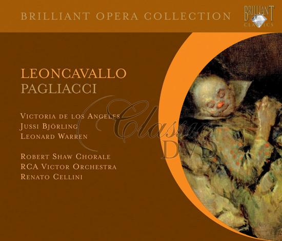 LEONCAVALLO,R.: Pagliacci [De Los Angeles/Björling] (CD)