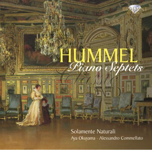 HUMMEL,J.N.: Piano Septets (CD)