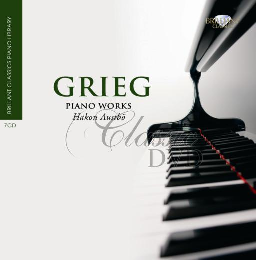 GRIEG,E.: Piano Works [Hakon Austbo] (7CD)