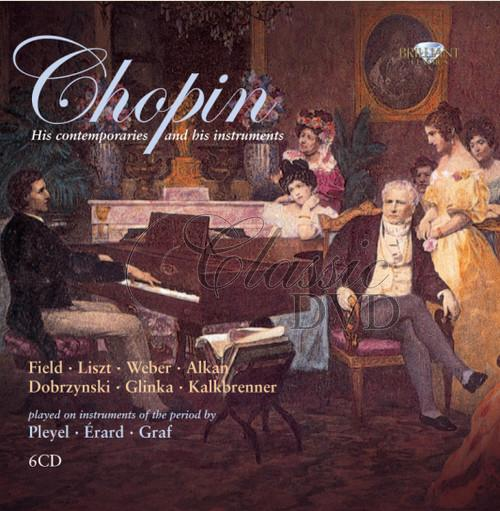 CHOPIN,F.: And his contemporaries played on Pleyel and Erard pianofortes (6CD)