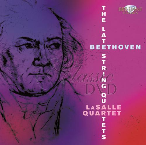 BEETHOVEN,L.V.: Late String Quartets [LaSalle Quartet] (3CD)