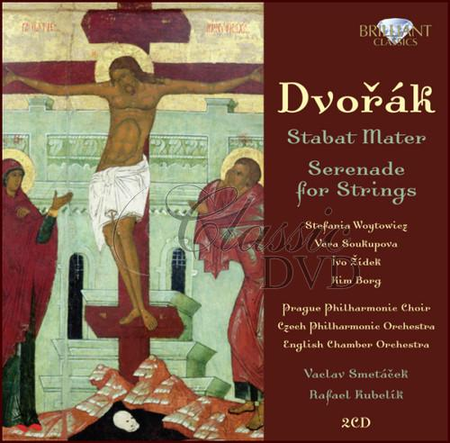 DVOŘÁK,A.: Stabat Mater; Serenade for strings (2CD)