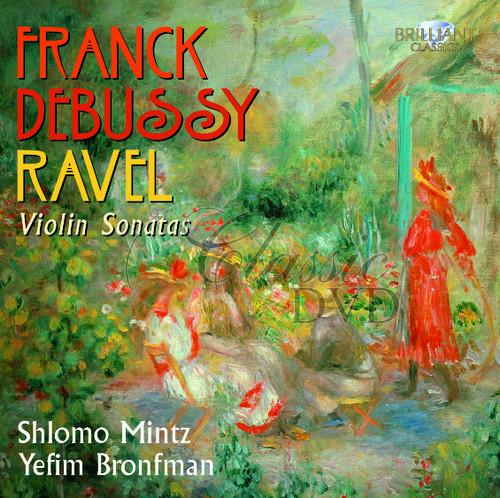 FRANCK-DEBUSSY-RAVEL: French Violin Sonatas (CD)