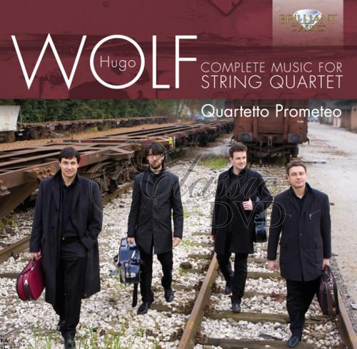 WOLF,H.: Complete Music for String Quartet (CD)