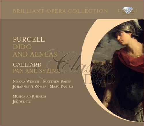 PURCELL: Dido & Aeneas. GALLIARD: Pan And Syrinx (2CD)