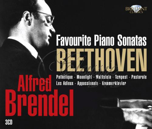 BEETHOVEN,L.V.: Brendel plays favourite sonatas (3CD)