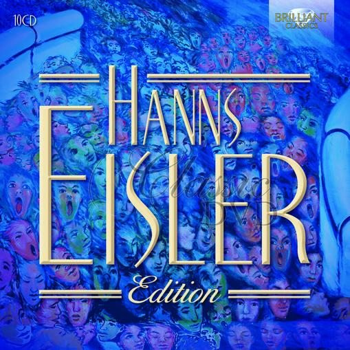 HANS EISLER Edition (10CD)