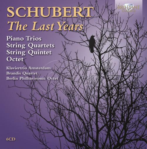 SCHUBERT,F.: The Last Years (6CD)