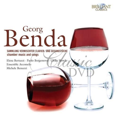 BENDA: Chamber Music and Songs (6CD)
