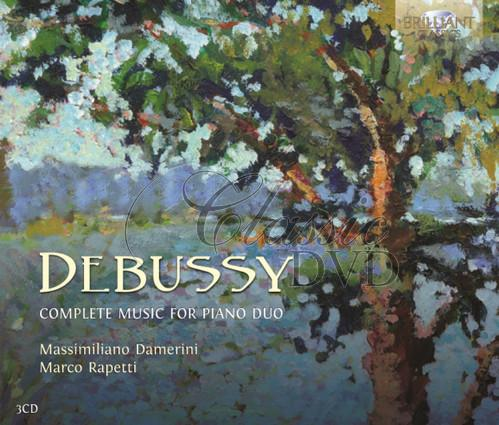 DEBUSSY,C.: Complete Music for Piano Duo (3CD)