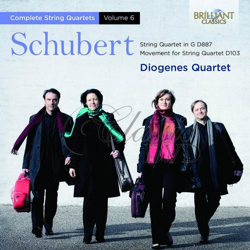 SCHUBERT: String Quartets Vol.6; Diogenes Quartet  (CD)