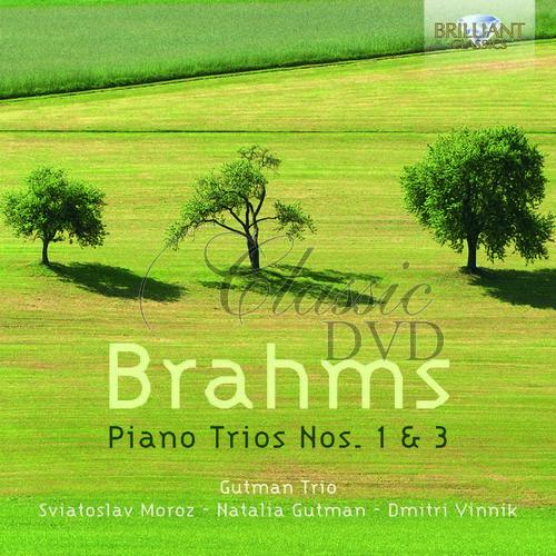 BRAHMS: Piano Trios Nos. 1 & 3; Gutman Trio (CD)