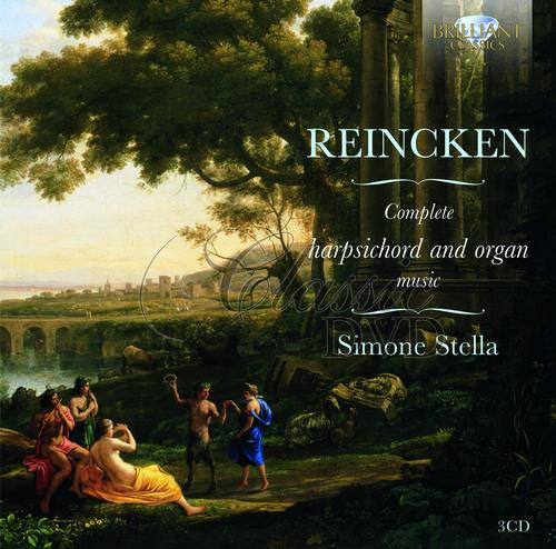REINCKEN: Complete Harpsichord and Organ Music; Simone Stella (3CD)