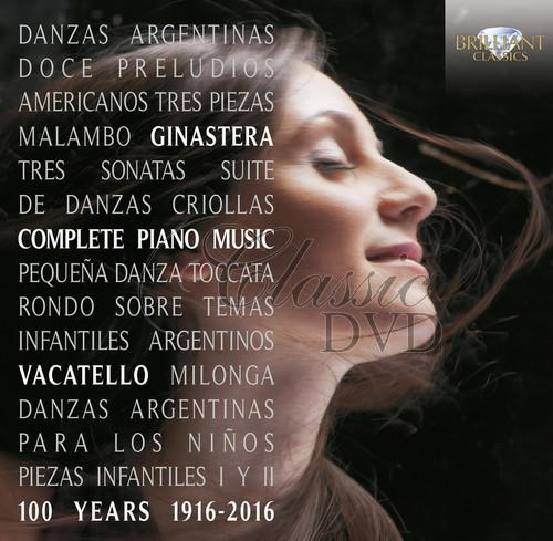 GINASTERA: Complete Piano Music; Mariangela Vacatello (2CD)