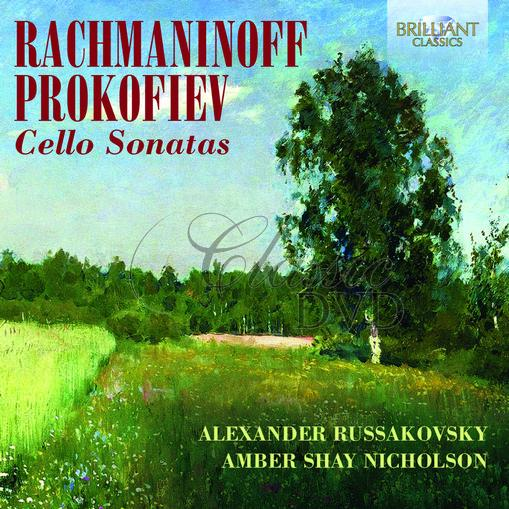 RACHMANINOFF & PROKOFIEV: Cello Sonatas (CD)
