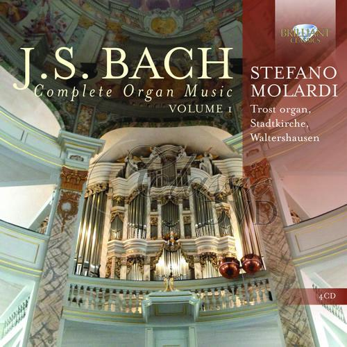 J.S. Bach: Complete Organ Music, Vol. 1; Stefano Molardi (4CD)