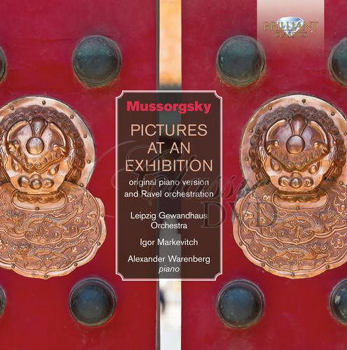 Mussorgsky: Pictures at an Exhibition for Orchestra & Solo Piano (2CD)