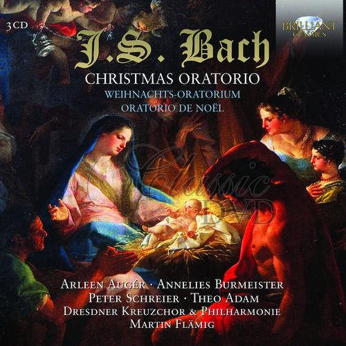 J.S. Bach: Christmas Oratorio (3CD)