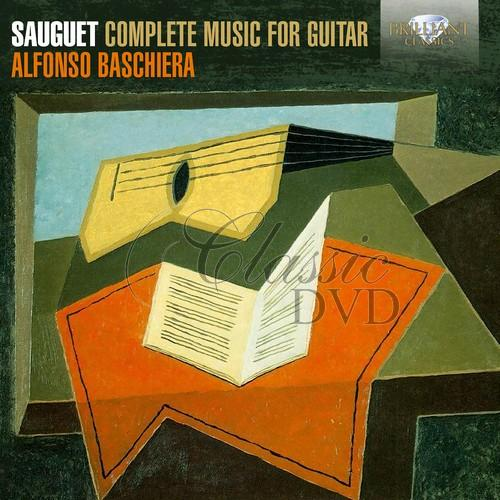 SAUGET: Complete Music for Guitar (CD)