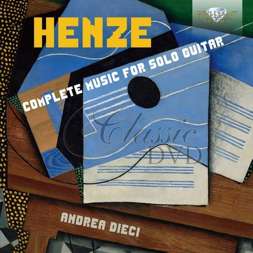 HENZE: Complete Music for Solo Guitar; Andrea Dieci (1CD)