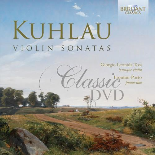 KUHLAU: Violin Sonatas (CD)