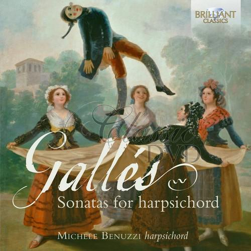 GALLES: Sonatas for harpsichord; Michele Benuzzi (1CD)