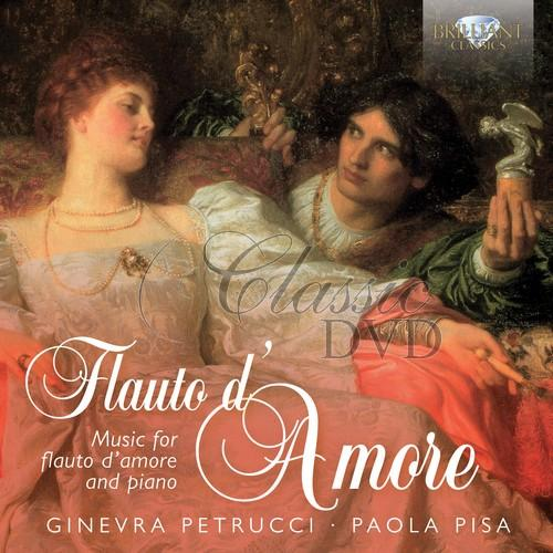 FLAUTO D'AMORE: Music for Flute; Ginevra Petrucci, Paola Pisa (1CD)