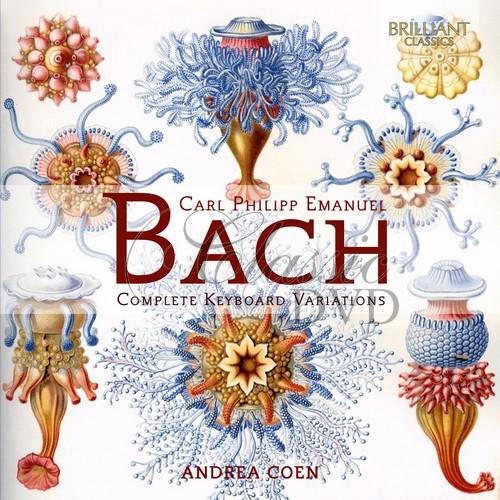 CPE BACH: Complete Keyboard Variations; Andrea Coen (2CD)
