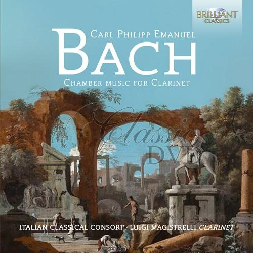 C.P.E. BACH: Chamber Music for Clarinet (CD)