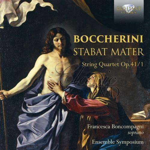 BOCCHERINI: Stabat Mater, String Quartet Op.41/1 (CD)