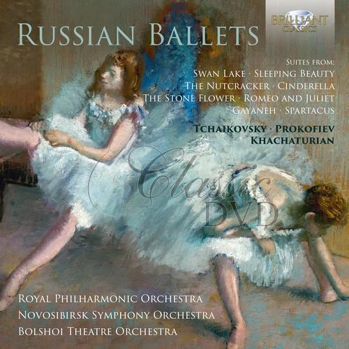 RUSSIAN BALLETS: Tchaikovsky, Prokofiev, Khachaturian; Royal Philharmonic Orchestra, Bolshoi Theatre Orchestra (3CD)