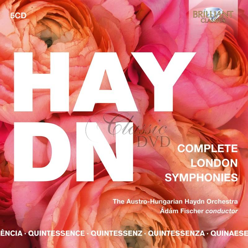 Haydn: Complete London Symphonies; The Austro-Hungarian Haydn Orchestra, Ádám Fischer  (5CD)