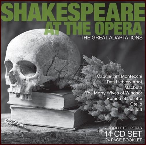 SHAKESPEAR AT THE OPERA: Great Adoptations - DÁRKOVÁ EDICE (14CD)