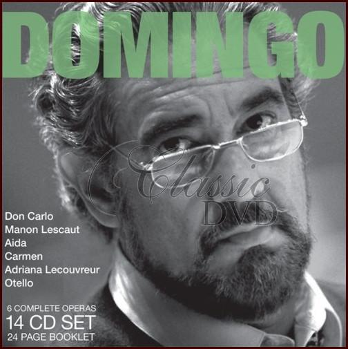 PLACIDO DOMINGO: Legendary Performances - DÁRKOVÁ EDICE (14CD)