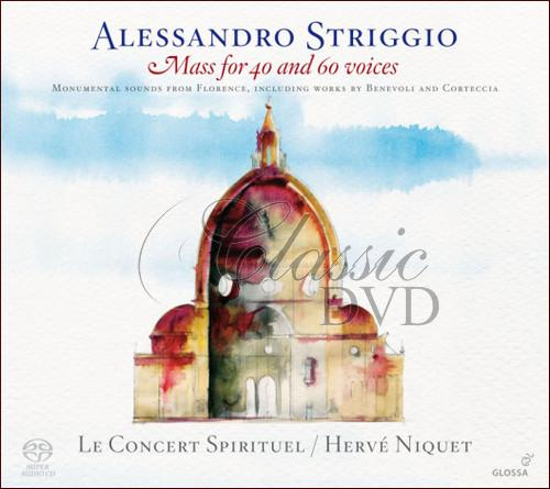 STRIGGIO,A.: Mass for 40 and 60 voices (SACD)
