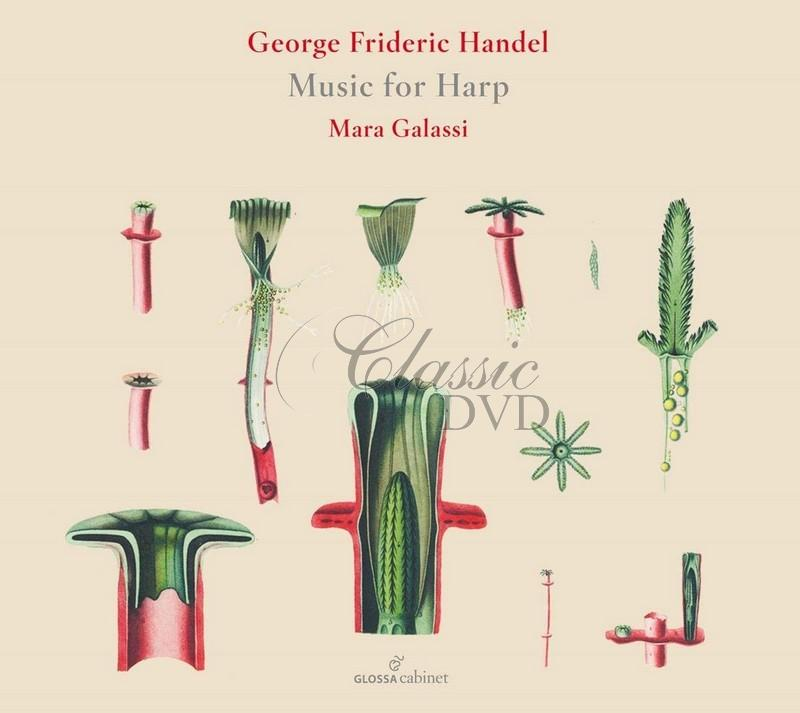 Handel: Music For Harp / Mara Galassi. Giovanni Togni (CD)