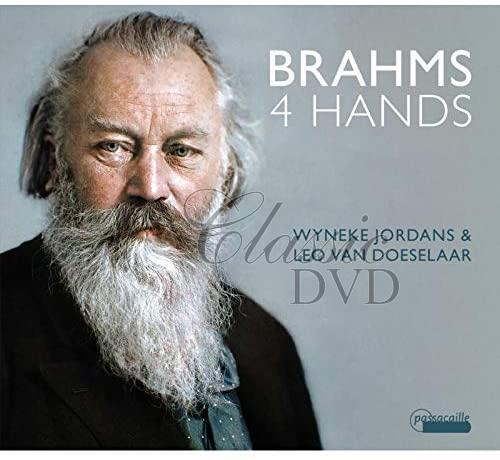 Brahms: 4 Hands - Wyneke Jordans & Leo Van Doeselaar (CD)