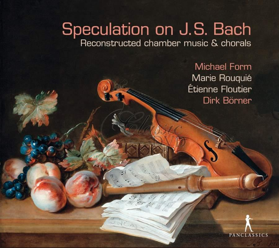 Speculation on JS Bach - Reconstructed chamber music & chorals (CD)